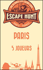 Live Escape Game Paris