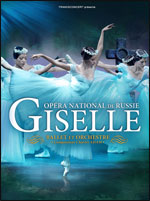 GISELLE - OPÉRA NATIONAL DE RUSSIE
